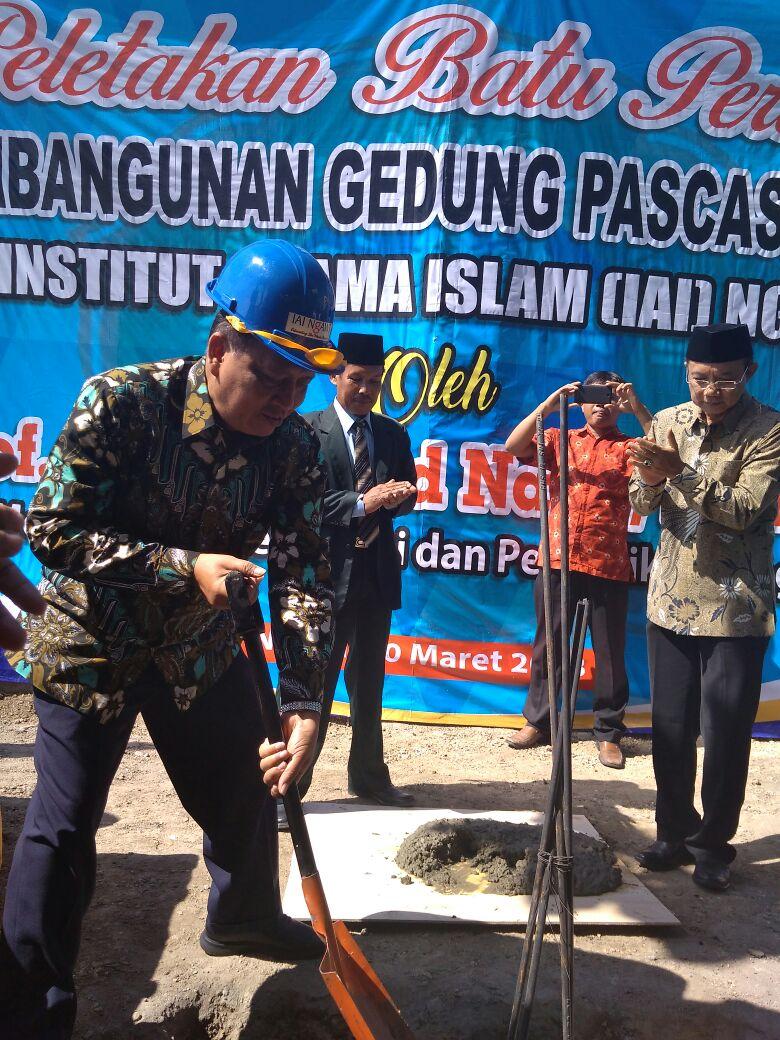 Menristekdikti resmikan peletakan batu pertama Gedung IAI