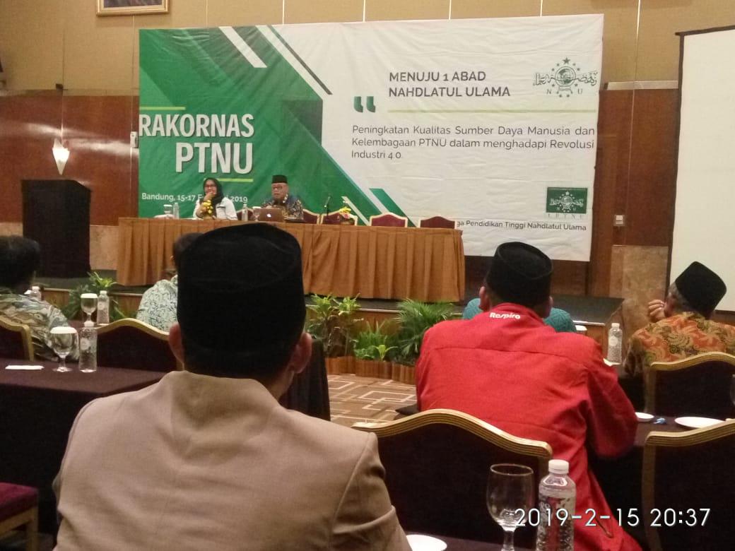 IAI Ngawi Mengikuti Rapat Koordinasi Nasional Lembaga Perguruan Tinggi Nahdlatul Ulama (LPTNU) Ke-2 Di Bandung